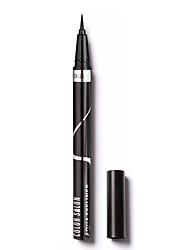Eyeliner Liquido Satinato Asciugatura rapida Effetto prolungato Naturale Ompermeabile Occhi 1 1