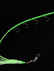 """2 pc Esche morbide Esca Jerkbaits Luminoso/Fluorescente g/Oncia,400 mm/> 12 """" pollice,Plastica morbida Pesca a mulinello"""