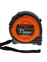 Steel Shield 7.5M Rubber Tape Measuring