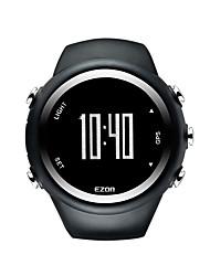 Ezon gps t031 sincronismo de fitness relógios desporto ao ar livre impermeável velocidade de relógio digital de contador de distância