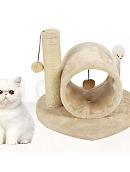 Cat Cat Toy Pet Toys Interactive Scratch Pad Durable Wood Plush For Pets