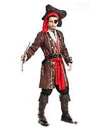 Pirate Costumes de Cosplay Masculin Halloween Carnaval Fête / Célébration Déguisement d'Halloween Mode