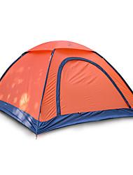 Недорогие -JUNGLEBOA® 2 человека Световой тент Один экземляр Палатка Однокомнатная Складной тент Влагонепроницаемый Водонепроницаемость Компактность