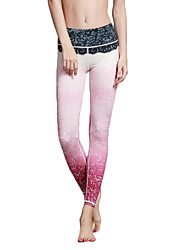 cheap -Women's Fashion Sexy Tights High Elastic Fitness Sports Yoga Leggings Size S-XL