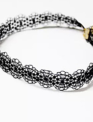 abordables -Femme Original Tatouage Basique Collier court /Ras-du-cou Bijoux Dentelle Tissu Collier court /Ras-du-cou , Mariage Anniversaire