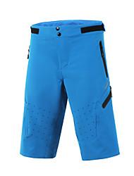 Arsuxeo Shorts de Ciclismo Hombres Bicicleta Pantalones cortos holgadosTranspirable Secado rápido Diseño Anatómico Bandas Reflectantes