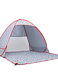 2 persone Tenda Igloo da spiaggia Singolo Tenda da campeggio Una camera Igloo da spiaggia Portatile per Campeggio Viaggi Acciaio