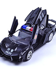 cheap -Die-Cast Vehicles Pull Back Vehicles Toy Cars Police car Toys Metal Alloy Metal Not Specified Gift