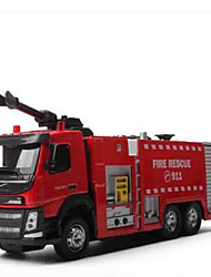 cheap -Fire Engine Vehicle Toy Truck Construction Vehicle Toy Car Metal Kid's Toy Gift