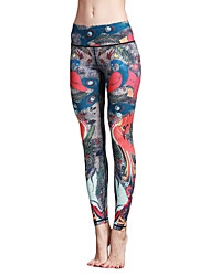 cheap -Yoga Pants Tights Leggings Bottoms Quick Dry Breathable Natural High Elasticity Sports Wear Women's Yoga Pilates Exercise & Fitness