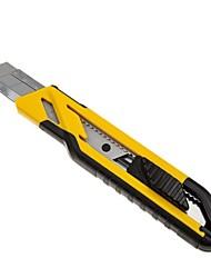 Stanley Self Lock Dual Color Handle Artist Knife 18Mm (3 Blade) /1 Handle