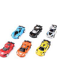 Недорогие -Машинки с инерционным механизмом Строительная техника Игрушки Игрушки пластик 12 Куски Универсальные Подарок