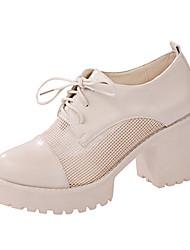 Da donna-Tacchi-Ufficio e lavoro Formale Casual-Comoda Club Shoes-Quadrato-Vernice-
