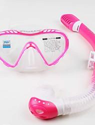 baratos -Kit para Snorkeling / Pacotes de Mergulho - Máscara de mergulho, Snorkel - Snorkel Seco, Protecção Natação, Mergulho Fibra de Vidro,