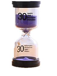 Недорогие -Песочные часы Игрушки Цилиндрическая Стекло Универсальные Куски