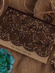 Piegato in alto Inviti di nozze 50-Invito campione Biglietti di compleanno Biglietti per la Festa della mamma Cartoline di auguri per il
