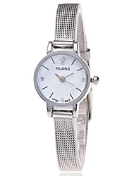 cheap -Women's Quartz Wrist Watch Cool Stainless Steel Band Casual / Fashion Silver / Gold