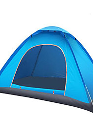 cheap -2 persons Tent Tent Accessories Single Camping Tent One Room Fold Tent Keep Warm Moistureproof/Moisture Permeability Well-ventilated