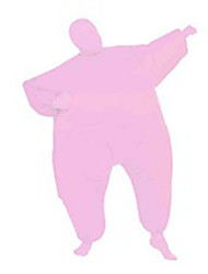 Costume Inflatable Full Body Suit Inflatable Costume Teen Chub Suit Full Body Jumpsuit Costume Pink Color Masked Man Adult Large