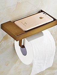 cheap -Facial Tissue Holders Neoclassical Brass 1 pc - Hotel bath