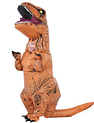cheap -Dinosaur Cosplay Costume / Masquerade / Inflatable Costume Movie Cosplay Leotard / Onesie / Air Blower Halloween / Carnival / Children's Day Polyester