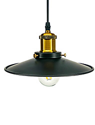 cheap -Loft iron Chandelier Black For Bar Coffee Dining Kitchen Pendant Lamp