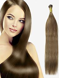 baratos -Febay Queratina / Ponta I Extensões de cabelo humano Liso Cabelo Humano
