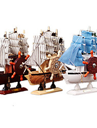 cheap -Music Box Toys Ship Wood Pieces Unisex Gift