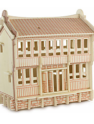 Недорогие -3D пазлы Веселье Дерево Классика Детские Универсальные Игрушки Подарок