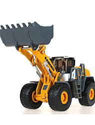 Недорогие -KDW Строительная техника Колесный погрузчик Игрушечные грузовики и строительная техника Игрушечные машинки Машинки с инерционным механизмом 1:32 Металлические Детские Игрушки Подарок