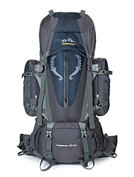 cheap -85 L Rucksack Climbing Leisure Sports Camping & Hiking Rain-Proof Dust Proof Breathable Multifunctional
