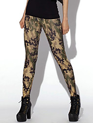 cheap -Women's Sporty Look Fashion Camouflage Print Breathable Quick Dry Compression Stretch Spring/Summer Sports Tights Pants Fitness Running Leggings