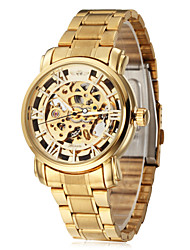 WINNER® New Watch Men's Mechanical Skull Skeleton Auto Watches Sport Wristwatch Xmas Gift Cool Watch Unique Watch Fashion Watch