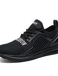 cheap -Brand Men's Trainers 2018 New Fashion Sneakers Comfort Tulle Running Breathable Shoes Plus Size 39-45