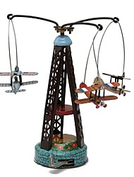 cheap -Wind-up Toy Toys Aircraft Iron Metal 1 Pieces Children's Gift