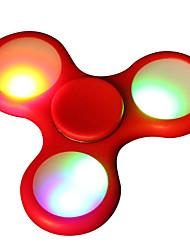baratos -Spinners de mão / Mão Spinner Alta Velocidade / Por matar o tempo / O stress e ansiedade alívio LED Spinner Plástico Clássico 1 pcs Peças Para Meninas Crianças / Adulto Dom