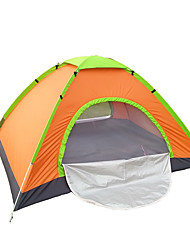 3-4 persone Tenda Singolo Tende da campeggio formato famiglia Una camera Tenda da campeggio 1000-1500 mm Fibra di carbonioOmpermeabile
