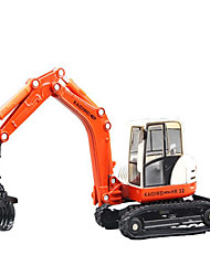 Toy Cars Toys Construction Vehicle Excavator Square Excavating Machinery Metal Alloy Plastic Kids Gift Action & Toy Figures Action Games