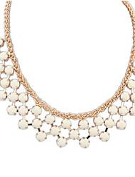 Dame Halskædevedhæng Geometrisk form Akryl Legering Mode Smykker For Afslappet 1 Stk.