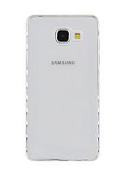 abordables -Coque Pour Samsung Galaxy A5(2017) A3(2017) Antichoc Transparente Coque Arrière Couleur unie Flexible TPU pour A3 (2017) A5 (2017)