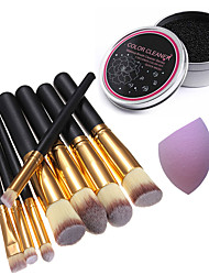 1 Powder Puff/Beauty Blender Makeup Brushes Brush Egg & Cleaners Dry Face Coverage Concealer Other China