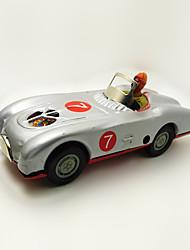 Недорогие -Игрушечные машинки Игрушка с заводом Гоночная машинка Автомобиль Железо Металл 1 pcs Куски Детские Игрушки Подарок