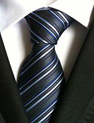 cheap -Men's Polyester Neck TieParty Work Striped All Seasons W0005