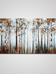Stretched Canvas Print Floral/Botanical Modern,One Panel Canvas Horizontal Print Wall Decor For Home Decoration