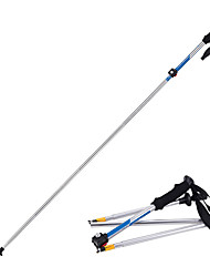 cheap -5pcs Nordic Walking Poles 135cm (53 Inches) Damping Foldable Adjustable Fit Light Weight Aluminum Alloy 7075 Camping / Hiking Snowsports