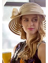 abordables -Tulle Tissu Chapeau Casque