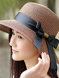 cheap -Women's Street chic Sun Hat - Solid Colored