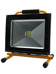 HKV® 1Pcs 50W 4850-4950LM  Light Portable Chargable Flood Light Emergency Lights LED Floodlight AC 85-265V
