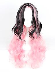 abordables -Pelucas Lolita Amaloli Gradiente de Color Peluca de Lolita  80-90 CM Pelucas de Cosplay Pelucas Para