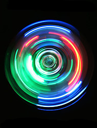 cheap -Fidget Spinner Hand Spinner High Speed Crystal Lighting LED Lighting Relieves ADD, ADHD, Anxiety, Autism Office Desk Toys Focus Toy